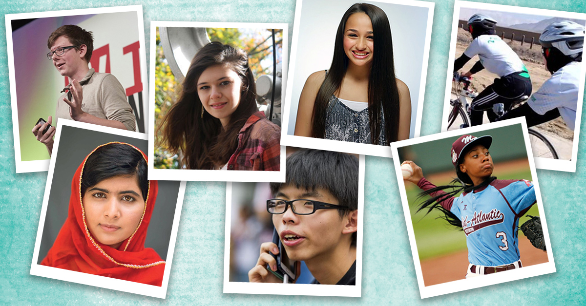 Chat with teenagers around the world